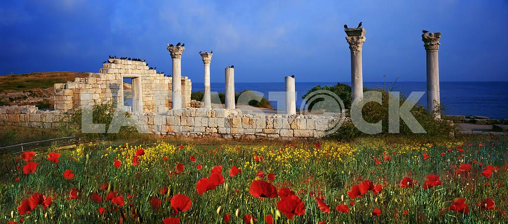 Greek buildings — Image 15976