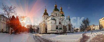 Зима в Софии