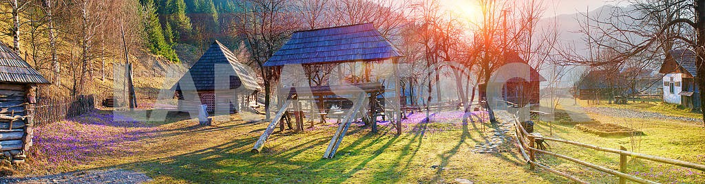 ancient village Kolochava