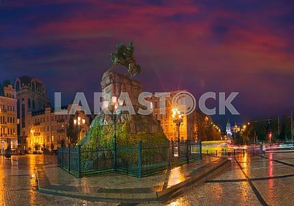 Панорама круговой Софиевская площадь вечером