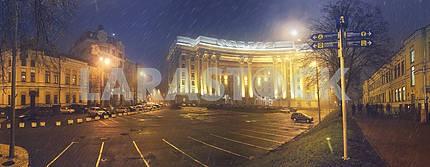 Панорамный вид на Министерство иностранных дел