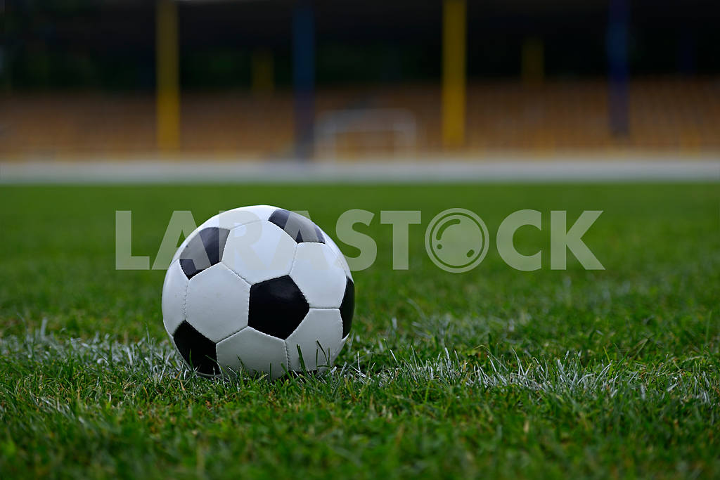 Leather soccer ball — Image 1655