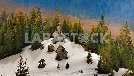 Lonely monastery