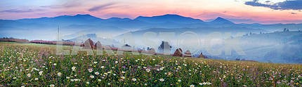 Mountain ranges of Ukraine