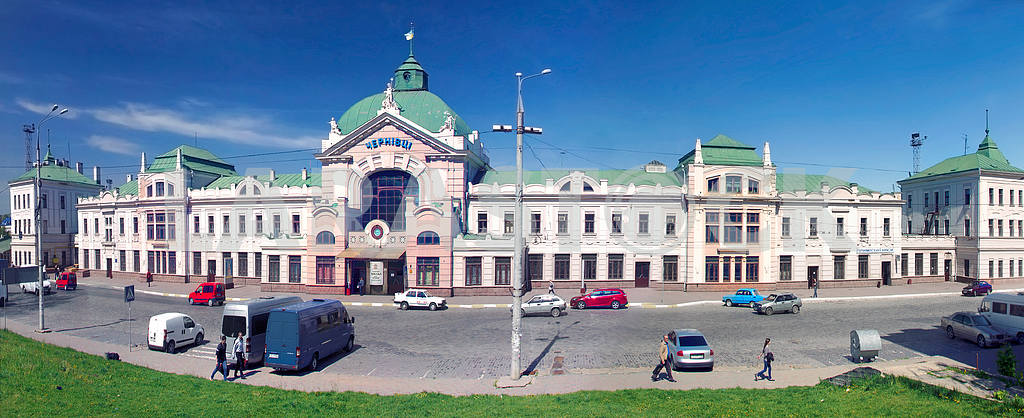 Beautiful panoramas in Chernivtsi