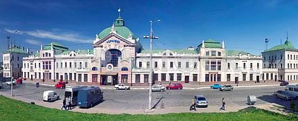Beautiful panoramas in Chernivtsi