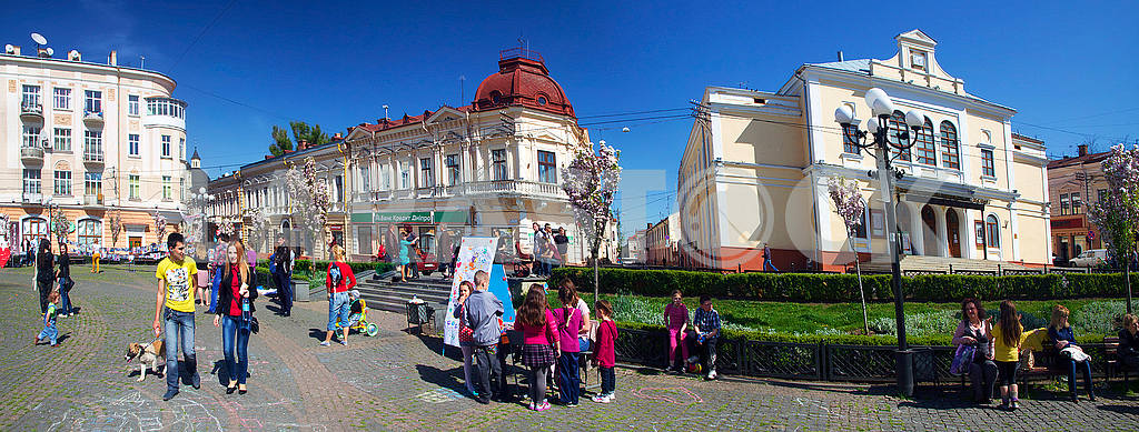 Children's holiday in Chernivtsi — Image 17009