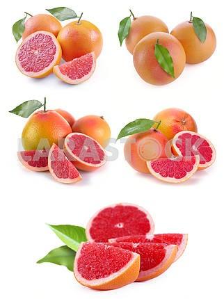 Установить грейпфрута с сегментами