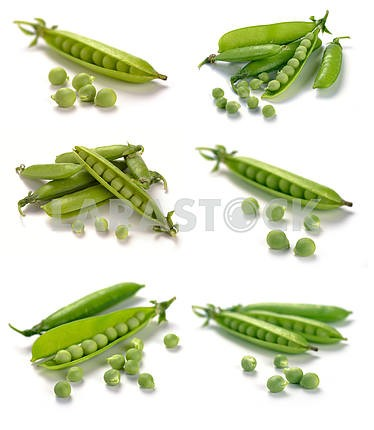Ripe pea vegetable