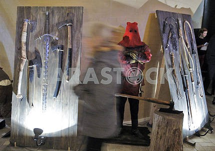 Medieval executions and punishments exhibition in Kiev