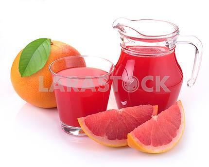 Grapefruit juice and fruit