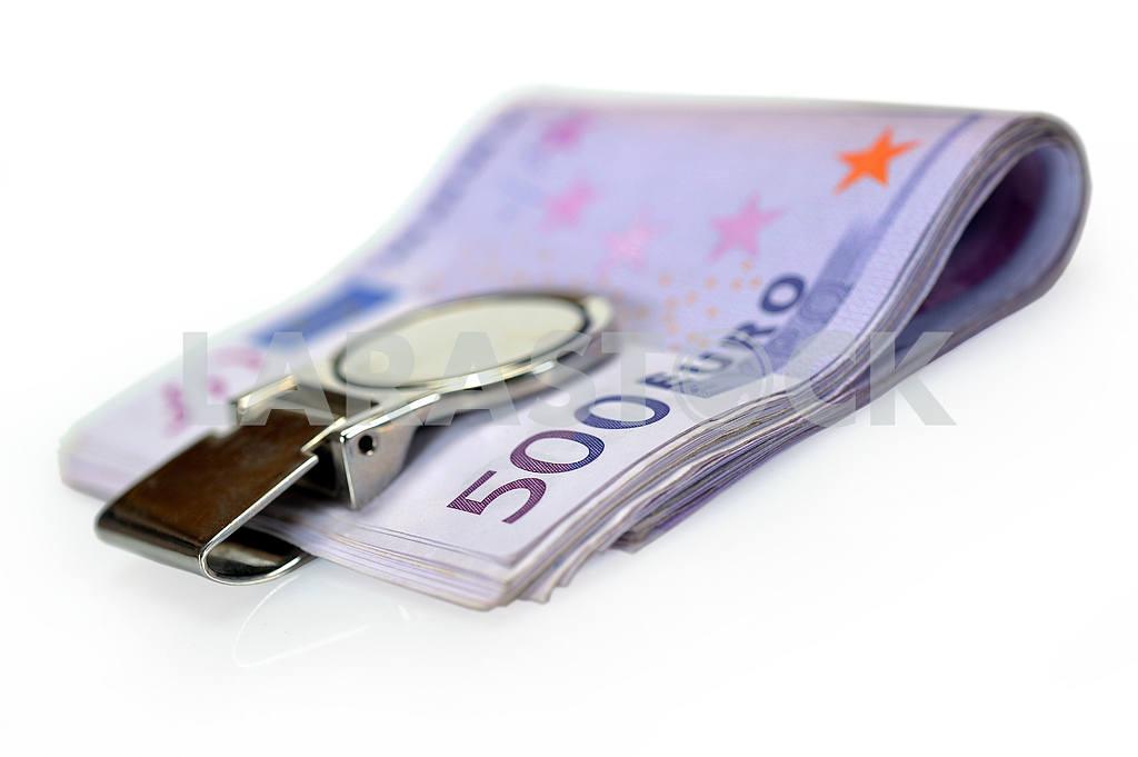 Bundle of 500 Euro banknotes — Image 17324