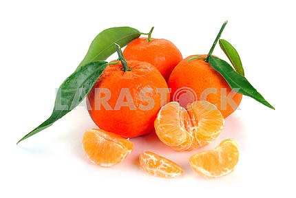 Clementines with segment