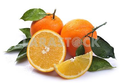 Orange with segment