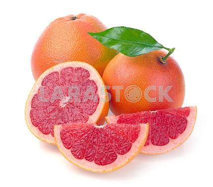 Grapefruit with segments