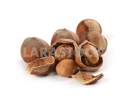 whole hazelnuts and nuts