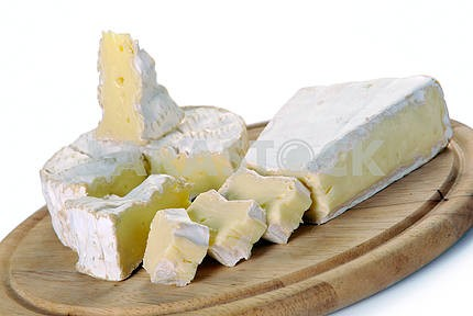 Brie cheese and camembert