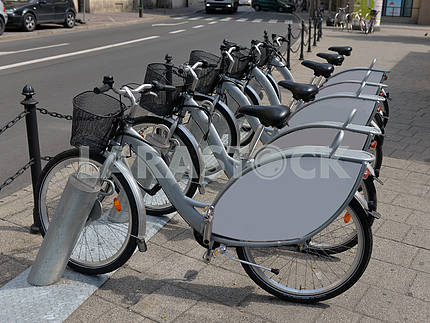 Bikes for hire on the streets