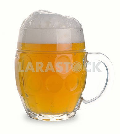 Mug of white beer