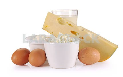 dairy products, cheese and eggs