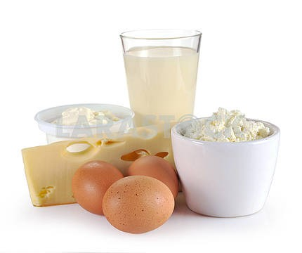 dairy products, cheese and egg