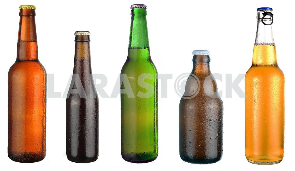 Set of beer bottles  — Image 17994