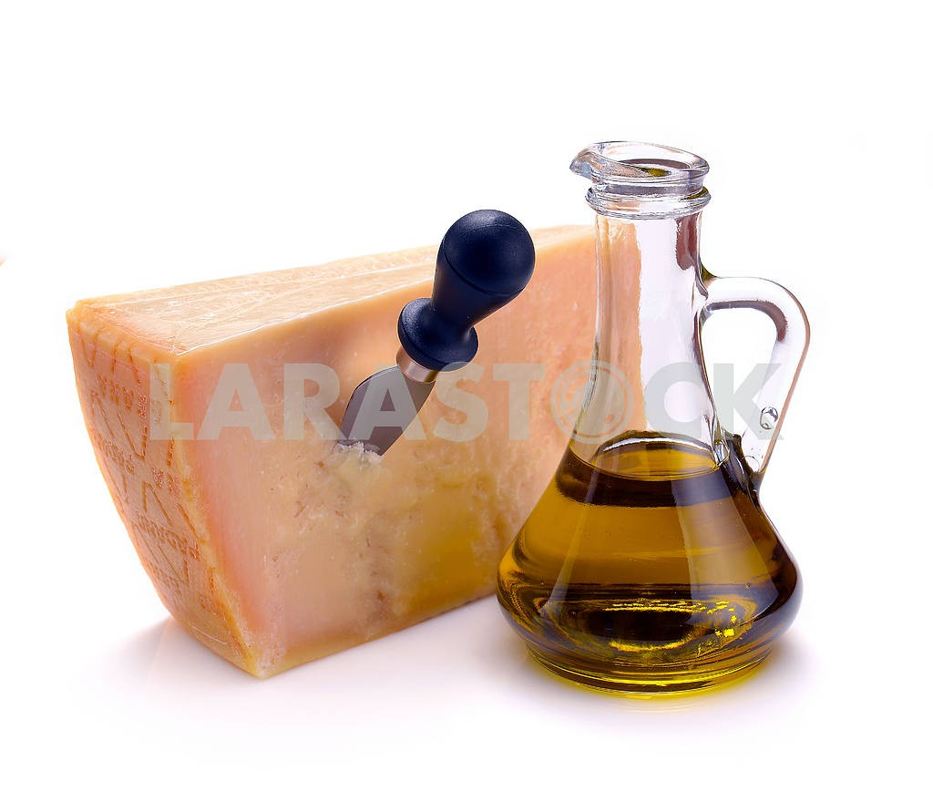 Parmesan cheese and olive oil — Image 18194