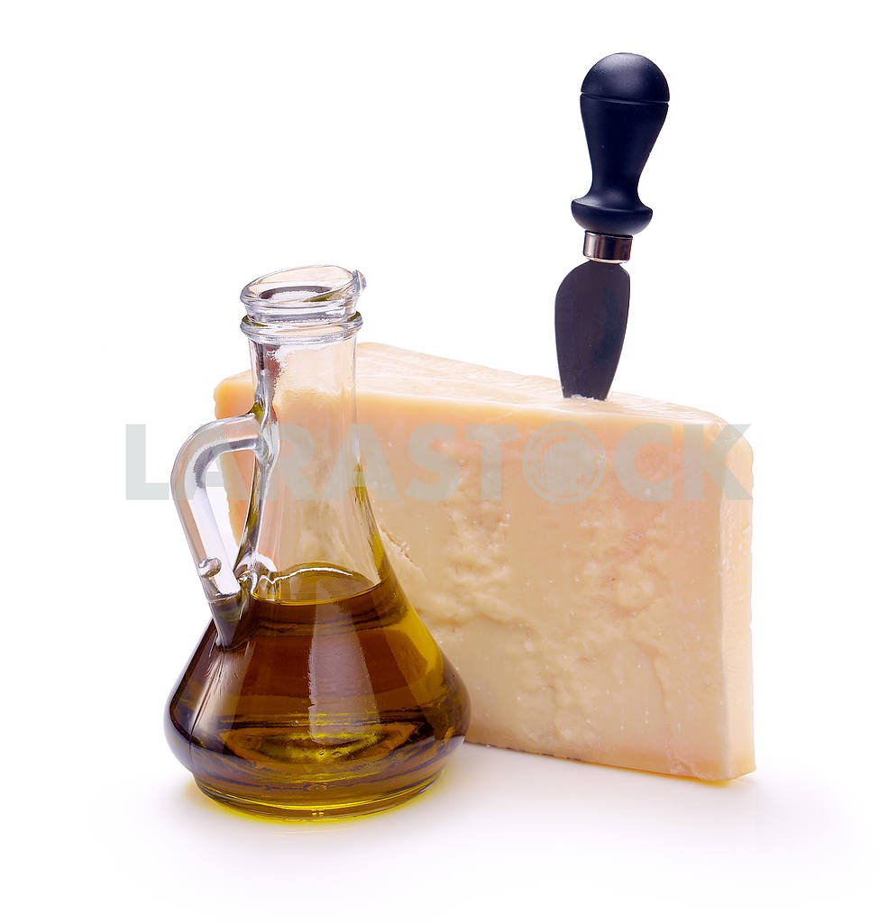 Parmesan cheese and olive oil — Image 18198