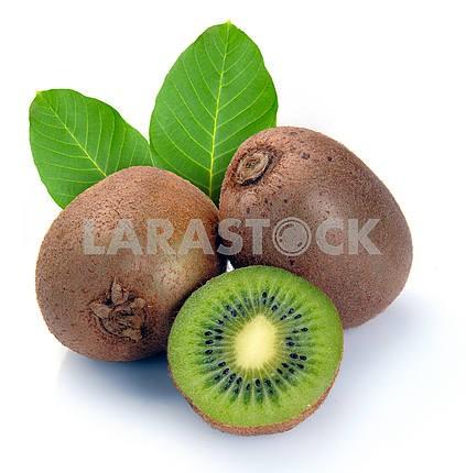 Ripe kiwi and segment
