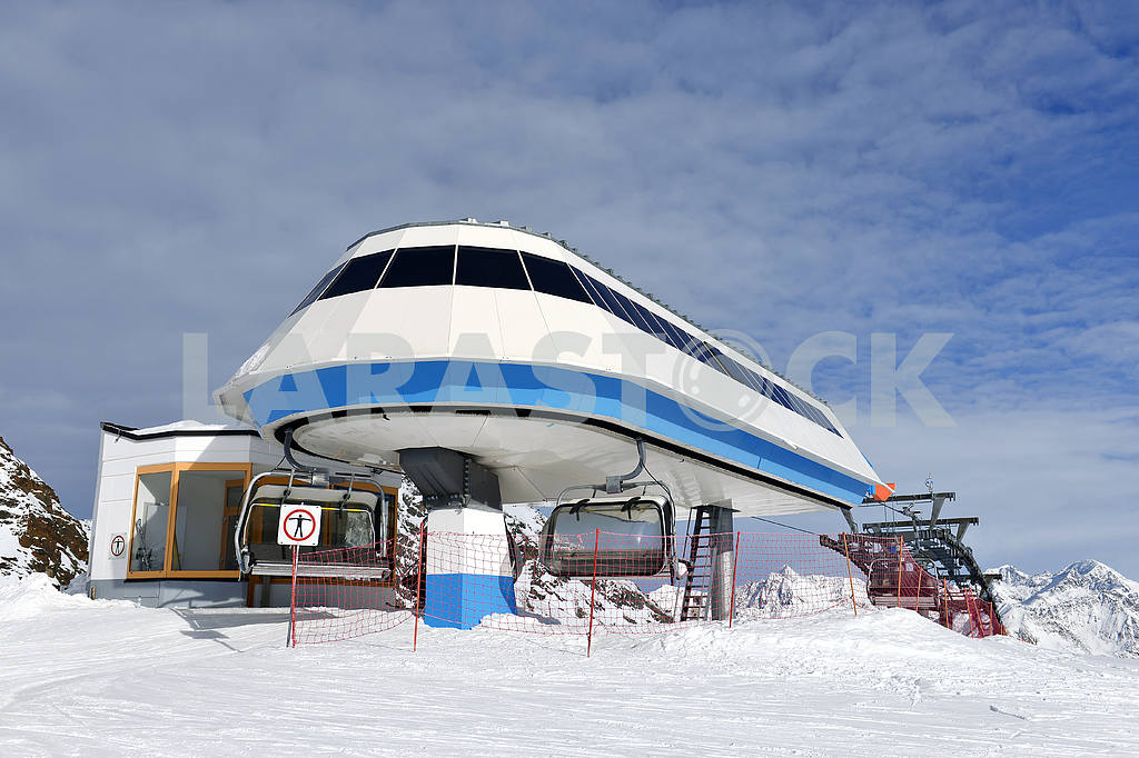 Ski lift station — Image 18337