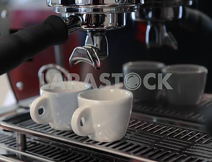 Кофе и чашки кофе