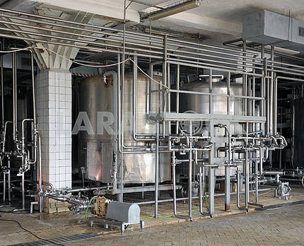 Dairy industry machiner
