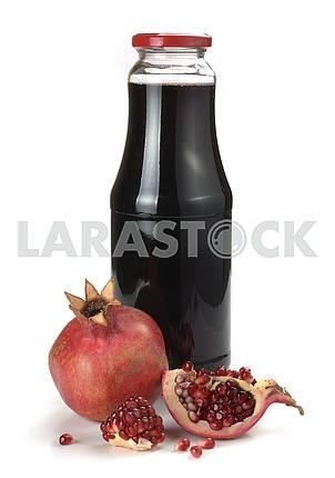 Гранатовый сок и фрукты