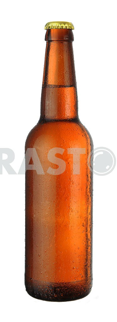 Bottle of beer with drops  — Image 18460