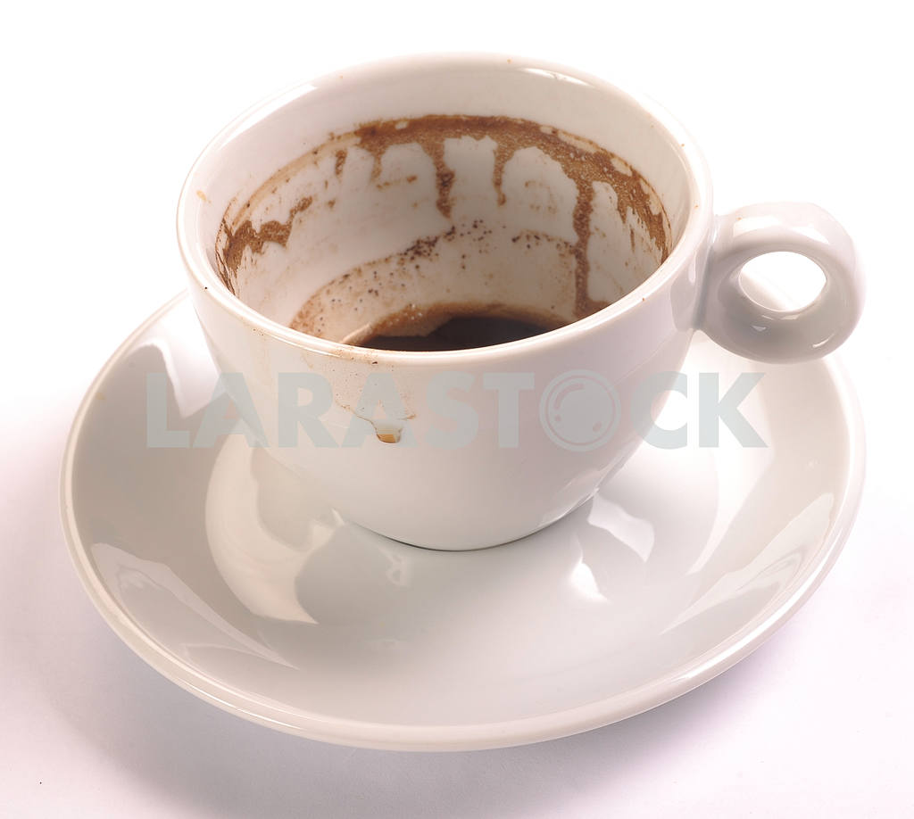 Drunk coffee cup — Image 18461