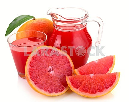 grapefruit juice and fruit