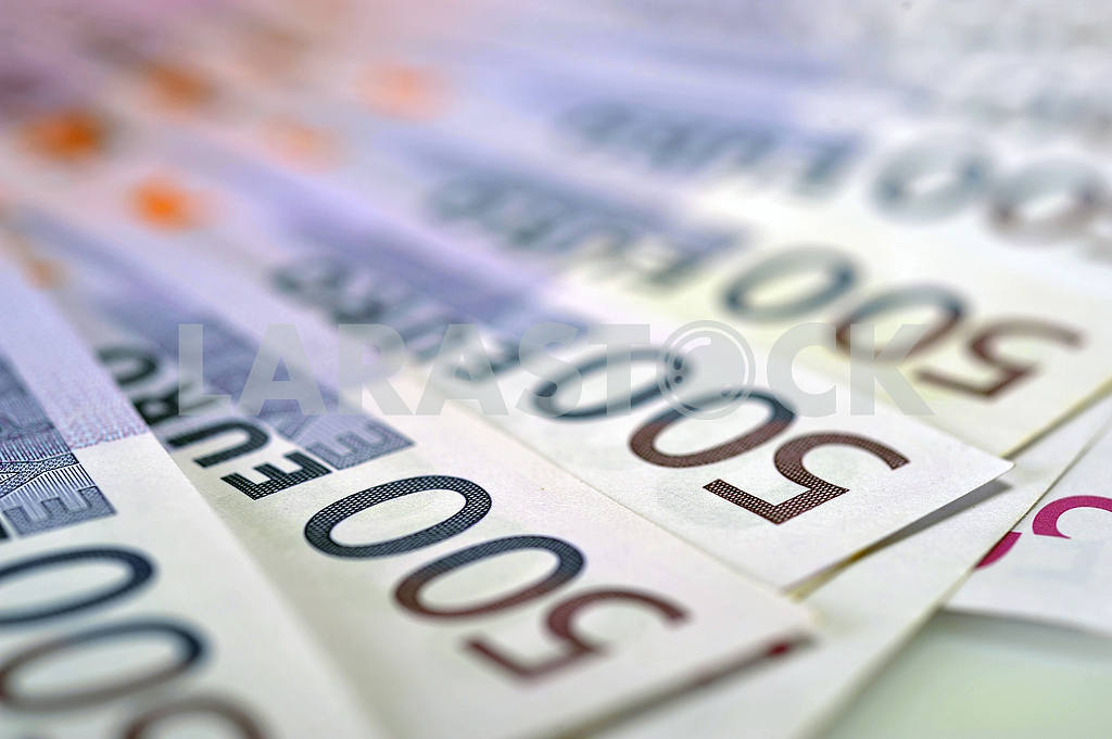 Banknotes 500 euros — Image 18534