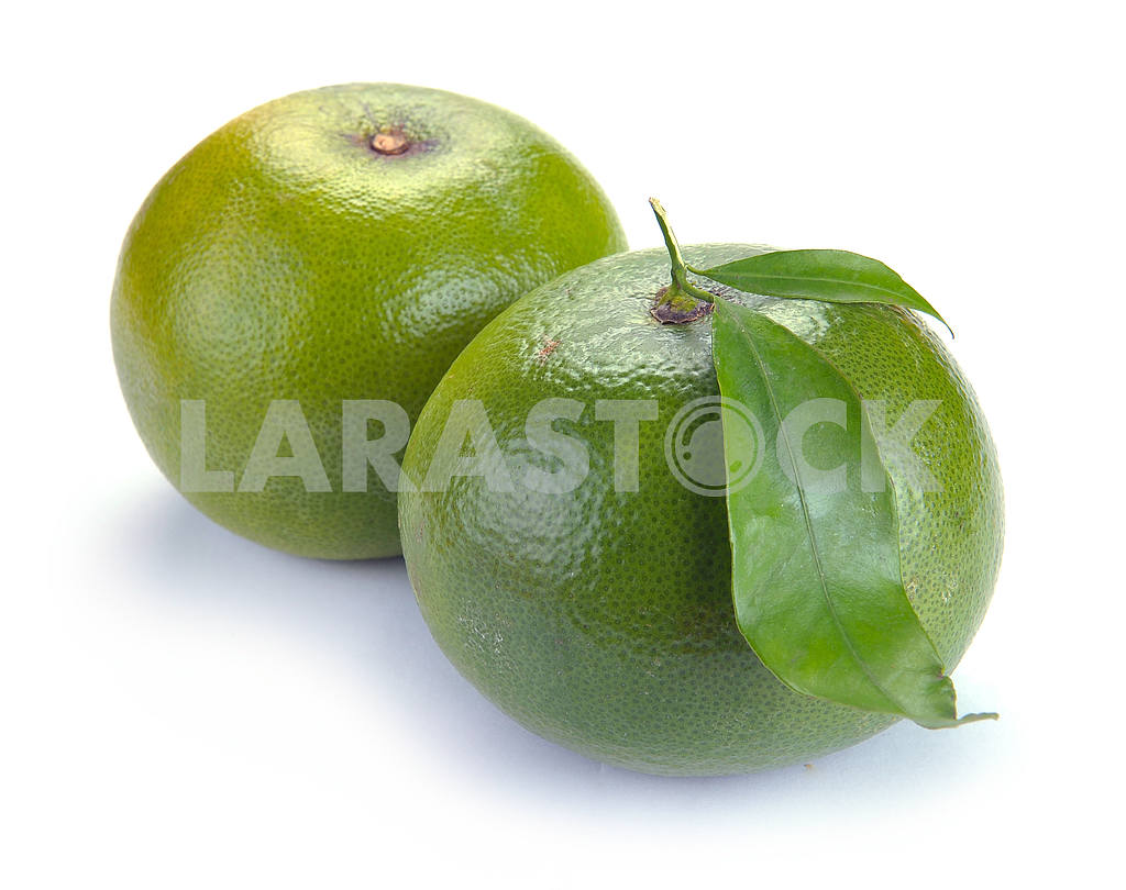 Citrus sweety fruit with leaves — Image 18581