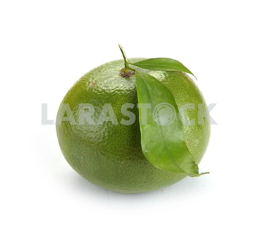 Citrus sweety fruit with leaves — Image 18582
