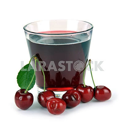 cherry juice and berry