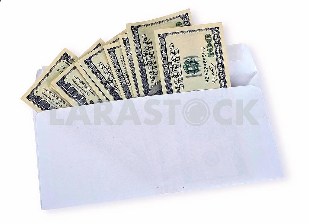 American dollars in an envelope — Image 18651