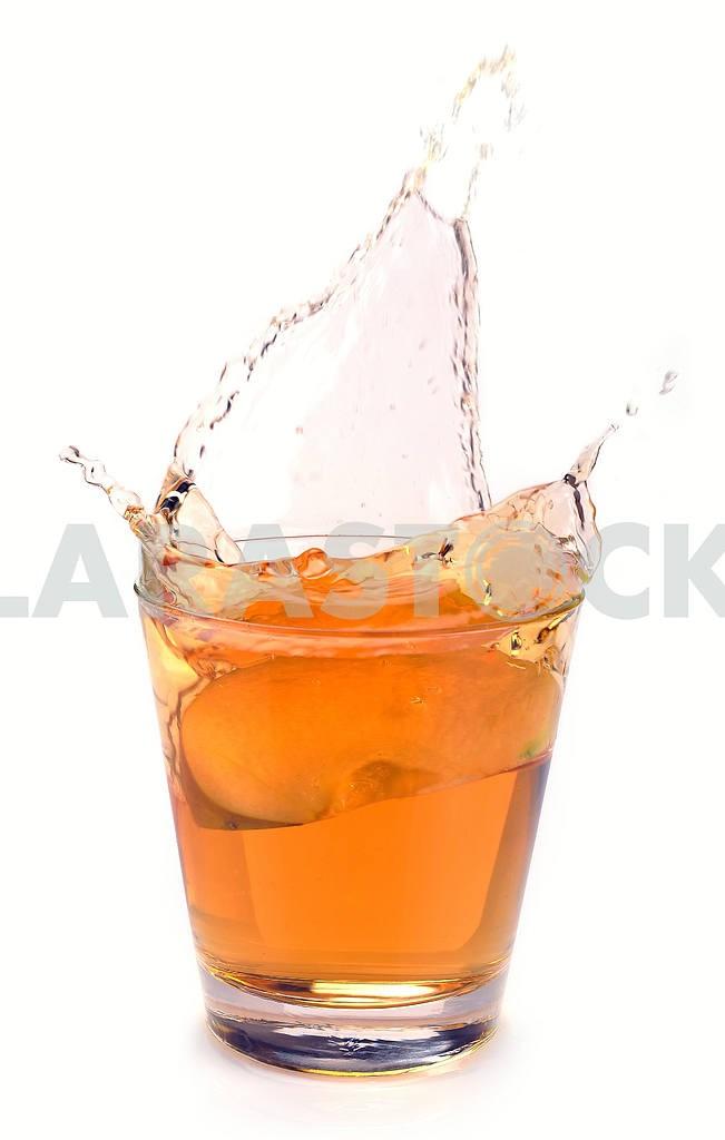 Apple juice splash — Image 18691