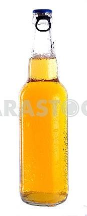 Прозрачный флакон с легкого пива