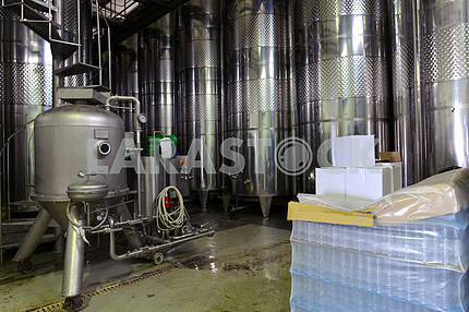 Stainless steel wine