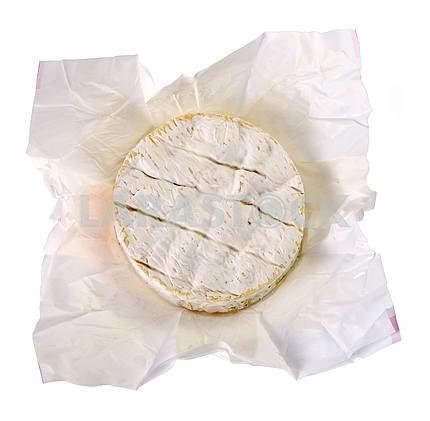 Camembert in a paper box
