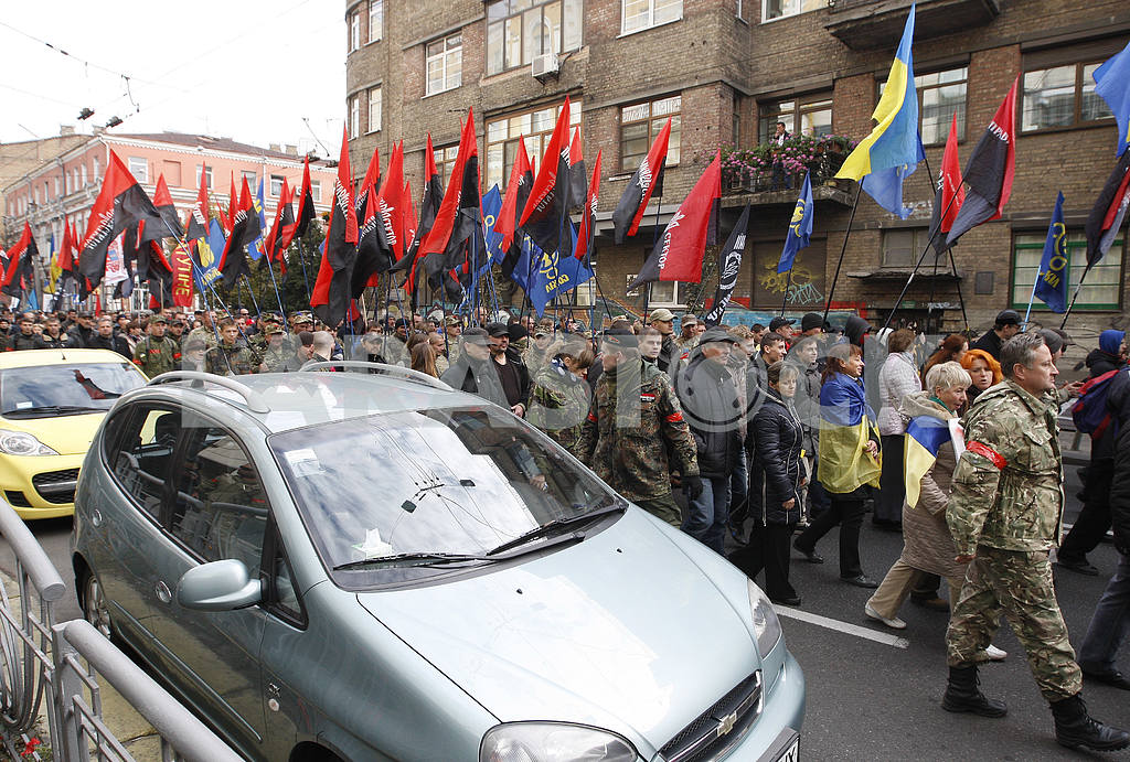 Ukrainians celebrate 73st anniversary of Ukrainian Insurgent Army UPA — Image 19283