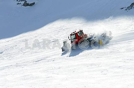 Big snowplow
