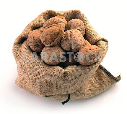 Walnuts in the tissue sac