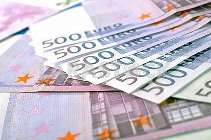 500 евро банкноты деньги