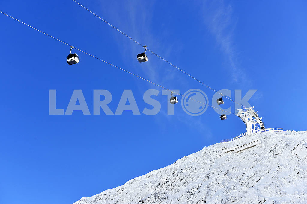 Ski lift chairs — Image 19517